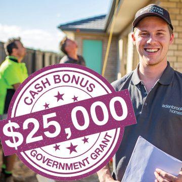 $25,000 CASH BONUS