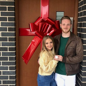 Meet First Home Buyers Kirsty and Kyle