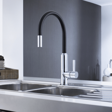 STYLISH AND FUNCTIONAL TAPS AND SINKS FOR YOUR NEW KITCHEN